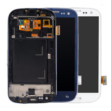 For Samsung Galaxy S3 i9300 i535 i747 T999 LCD Touch Screen Digitizer Frame QC