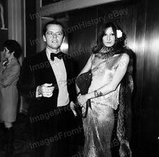 8x10 Print Jack Nicholson Angelica Houston Candid 1974 #JN98