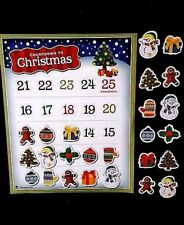 Countdown to Christmas Magnet Calendar NEW Holiday fun for Kids Days Until Xmas