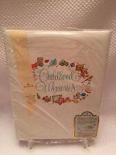 Vintage 1976 Hallmark Childhood Memories Adoption Kid/Baby Keepsake Book/Album
