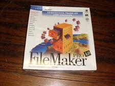 FileMaker 4.0 Pro PC Windows CD Original non opened box