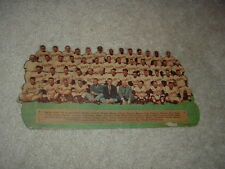 1957 Brooks Robinson ROOKIE Team Picture Natty Boh Premium National Beer