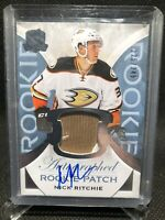 2015-16 The Cup Nick Ritchie Rookie Patch Auto /249