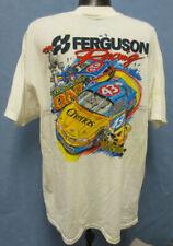 FERGUSON XL SHIRT 4 SIDED NASCAR MENS VINTAGE RETRO VTG CHASE WHITE RACING WHITE