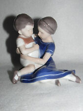 "BING & GRONDAHL ""CHILDREN EMBRACING""  #1568 - INGEBORG PLOCKROSS-IRMINGER - MINT"