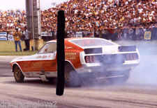 "Dock Loehr ""Stampede"" 1969 Ford Mustang NITRO Funny Car PHOTO!"