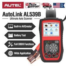 Autel AL539B OBD2 Car Diagnostic Code Reader Battery Circuit Test 12V AVOmeter