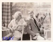 Jean Harlow Lee Tracy VINTAGE Photo Bombshell