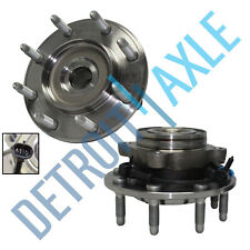 Set 2 New FRONT Driver and Passenger Wheel Hub & Bearing Chevy & GMC ABS 2WD
