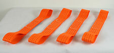 Car Recovery Alloy Wheel Car Soft Link Straps - Set of 4
