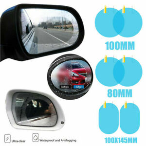 Car Anti Water Mist Film Anti Fog Rainproof Rearview Mirror Protective Film