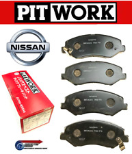 Genuine Nissan Pitwork Front Brake Pads - For R34 GT RB20DE NEO Skyline 20GT