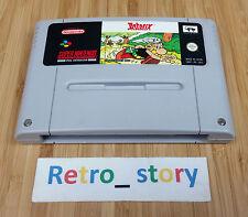 Super Nintendo SNES Astérix PAL
