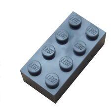 Lego 50 dunkelgraue (dark bluish gray) Steine 2x4 Basicsteine (3001) Neu bricks