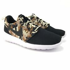 Nike Mens Roshe One SE Special Edition Black Desert Camo Shoes 844867-012 Sz 8.5