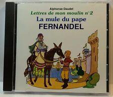 La Mule Du Pape; Lettres de Mon Moulin No.2 (French Text) Fernandel (CD2759)