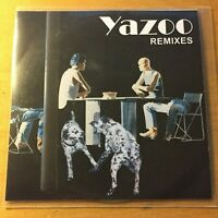 YAZOO Remixes 2008 rare UK 3-trk promo-ony CD
