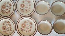 8 Pc JI Stonecrest Andre Ponche #230 Venetia Dinnerware - Plates, Bowls