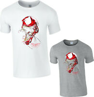 Venom Carnage T-Shirt Spiderman Marvel Comics Supervillain Venom Adult Kids Top