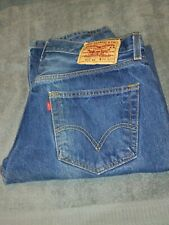 Levi's 501 Jeans 34x34 (33x31) Used Made In Dominican Republic