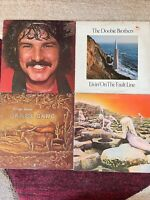 ROCK vinyl LP lot - B Cummings - Doobie Brothers - James Gang - Led Zeppelin
