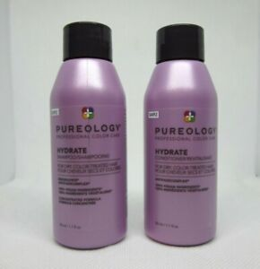 Pureology Hydrate shampoo and conditioner set sample mini 1.7 oz.
