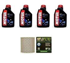KIT OLIO MOTUL 3000 10W40+FILTRO HF126 KAWASAKI Z900 Z1,Z1A,Z1B   73-75