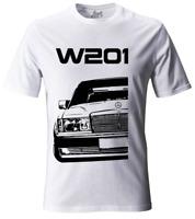 Merc 190E W201 Old School Tuning Grunge T-Shirt #2076