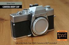 Leica M LM mount Silver Metallic Body Cap M1 M2 M3 M4 M5 M6 M7 M8 M9 M10 camera