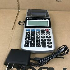 Canon Palm Printer Calculator P1-Dh V P1Dhv Black/Gray Receipt Printing 6.A1