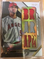 2016 Triple Threads Silver TTR-AP2 Albert Pujols /27
