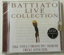 Franco Battiato - Live Collection 2 CD EMI
