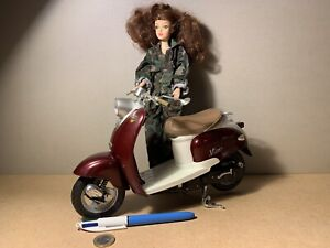 SCOOTER YAMAHA YJ50R VINO 1/6 BARBIE ACTION MAN NEW RAY
