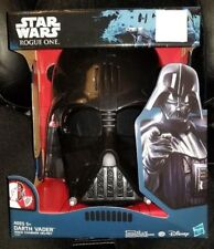 DISNEY STAR WARS ROGUE ONE DARTH VADER COSTUME VOICE CHANGE MASK~NEW~HALLOWEEN