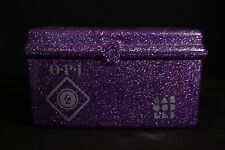 OPI Caboodles Makeup Storage Case Organizer Purple Sparkle