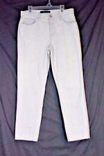 J BRAND 1208 Aubry High Waist Crop Jeans 31 Light Fade Blue Skinny Cotton Denim