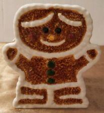 Ceramic Gingerbread Vase Utensil Holder
