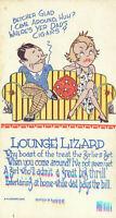 Postcard Lounge Lizard