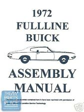 1972-72 Buick Skylark Assembly Manual - Each