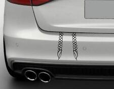 Aufkleber GRETA-ZÖPFE IM KOFFERRAUM Tuning Umweltzone Sticker Autoaufkleber