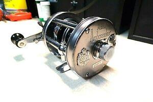 `ABU GARCIA AMBASSADEUR FISHING REEL - GREY 6500-C - REEL WORKS GOOD...