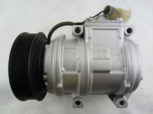 AC Compressor OEM Denso 10PA17C fits Land Rover Defender 90, Discovery QR