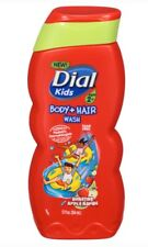 Dial Kids Body And Hair Wash Bursting Apple Rapids 12 Oz Tear Free Ages 2+