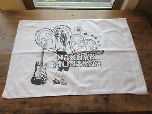 DISNEY HANNA MONTANA PILLOW CASE COLORING ARTS & CRAFT - Never Used