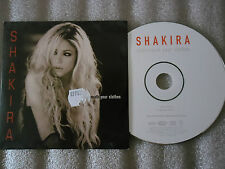 CD-SHAKIRA-UNDERNEATH YOUR CLOTHES-LAUNDRY SERVICE-BARCA-(CD SINGLE)-2002 2TRACK
