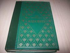 GUY DE MAUPASSANT-RACCONTI-BIBLIOTECA PERUZZO(RIZZOLI)1985 RILEGATO BUONISSIMO!