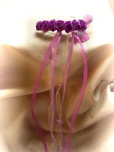 Haarschmuck Haarspange Blumenspange Kommunion  Hochzeit