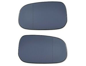 ASPHERICAL BLIND SPOT MIRROR GLASS PAIR CLEAR - VOLVO S60 S80 V60 2011 - 2015