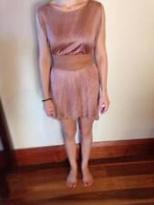 Scanlan and Theodore Silk Dress and Leather Belt