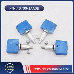 Set of 4 Tire Pressure Sensor TPMS 40700-1AA0B For Nissan Infiniti 315MHz